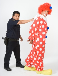 arrest clown